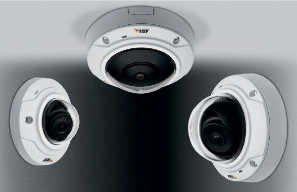 Новые камеры видеонаблюдения от компании AXIS Communications